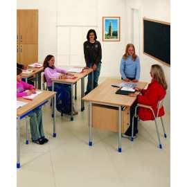 Krzesło nauczycielskie z podłokietnikami