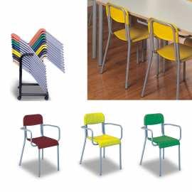 Krzesło plastikowe krzesło świetlicowe