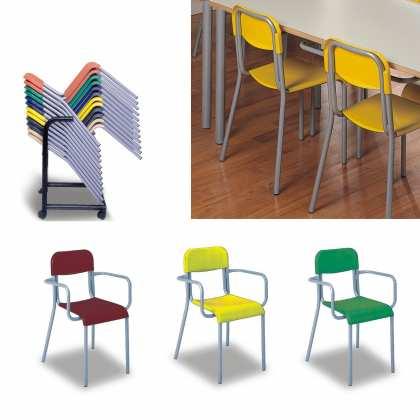 Krzesło plastikowe nr 4 (5025)