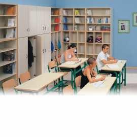 regały szkolne; regały przedszkolne