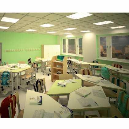 Stolik szkolny nowoczesny APEX
