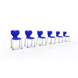 Krzesło plastikowe seria ADRIA